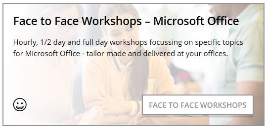 Face To Face Workshops